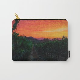 Tuscany Sunrise Landscape by Jeanpaul Ferro Carry-All Pouch