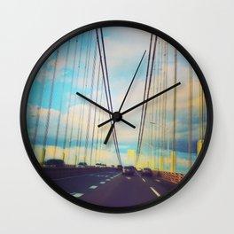Changing Lanes Wall Clock