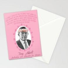 Tone Abet on Women Stationery Cards