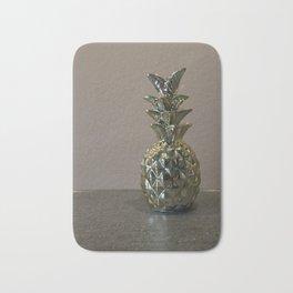 Golden Pineapples Bath Mat
