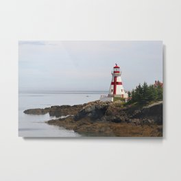 Head Habour Lightstation - Campobello Island New Brunswick Canada Metal Print