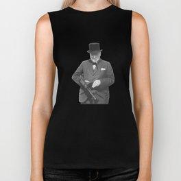 Sir Winston Churchill Biker Tank