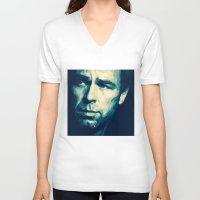 allison argent V-neck T-shirts featuring Chris Argent by Finduilas