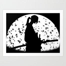 Jin - Samurai Champloo Art Print