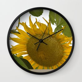 Gigantic Sunflower Wall Clock