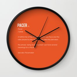 Pacer Wall Clock