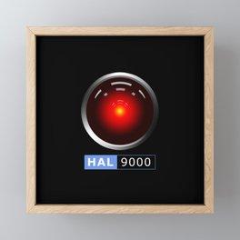 HAL 9000 Framed Mini Art Print