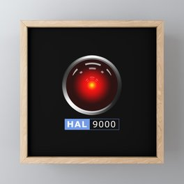 HAL 9000 Framed Mini Art Print