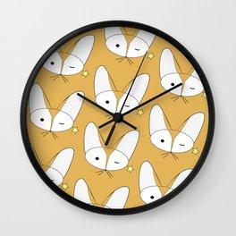 Foxxy Wall Clock