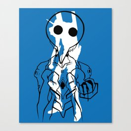 Nobody wants me, so they can all just die. Canvas Print