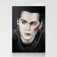 stiles Stationery Cards featuring Stiles by ribkaDory