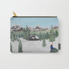 Christmas on the mountain Carry-All Pouch