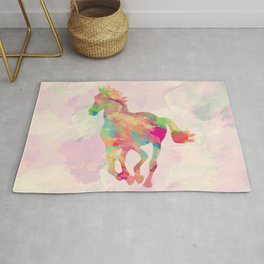 Abstract horse Rug