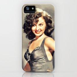Susan Hayward, Vintage Actress iPhone Case