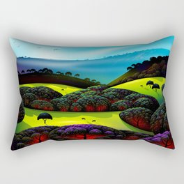 Morning Mist Rectangular Pillow