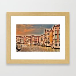 Grand Canal of Venice Framed Art Print