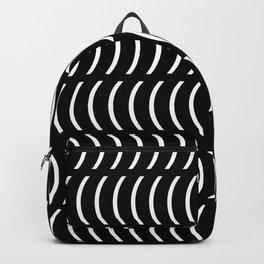 Smiley Big W&B Backpack