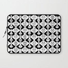 Isometric Chess WHITE Laptop Sleeve