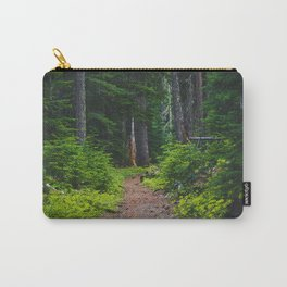 Green Forest Path (Color) Carry-All Pouch