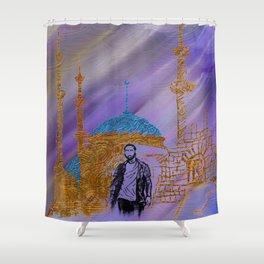 Journey, don't let it end Shower Curtain