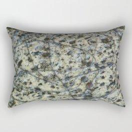 Scratched Granite Rectangular Pillow