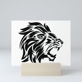 Roaring Lion of Judah Graphic Mini Art Print