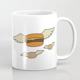 Bob's Burgers Flying Hamburgers T-shirt Coffee Mug