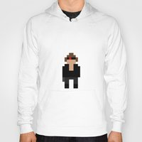 terminator Hoodies featuring The Terminator by Pixel Icons