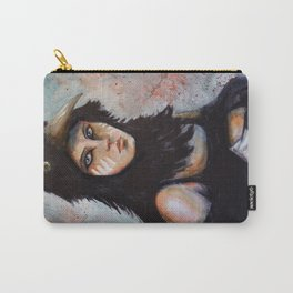 Raven girl Carry-All Pouch