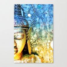 Faded Buddha Canvas Print