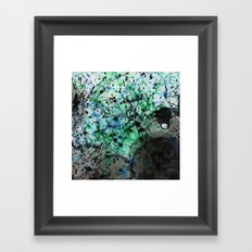 Ink & Bubbles 2 Framed Art Print