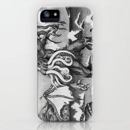 Cthulhu rising iPhone Case
