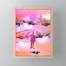 Moonflower Framed Mini Art Print