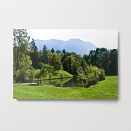 Magical landscape Metal Print