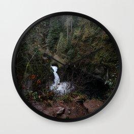 Punch Bowl Falls Wall Clock