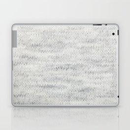 Gray Wool Laptop & iPad Skin