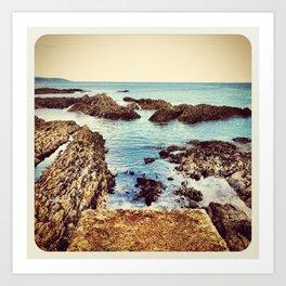 Rocky Beach - Instagram Art Print