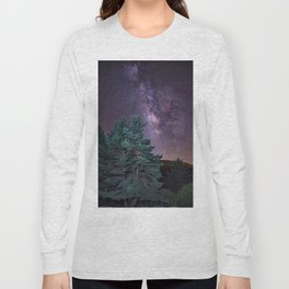 Milkyway at the mountains. Saggitarius and Rho Ophiuchus Long Sleeve T-shirt