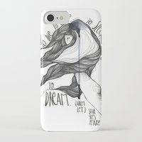 hamlet iPhone & iPod Cases featuring Hamlet. by Marina Guiu