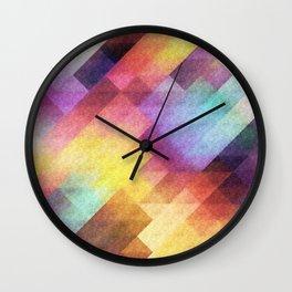 Pattern 8 Wall Clock