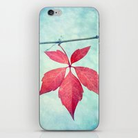 be happy iPhone & iPod Skins featuring happy by Claudia Drossert