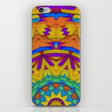 Colorful Geometry iPhone & iPod Skin