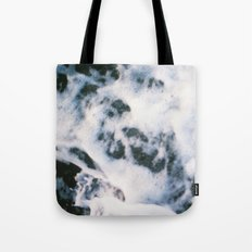 Standing on the shoreline Tote Bag