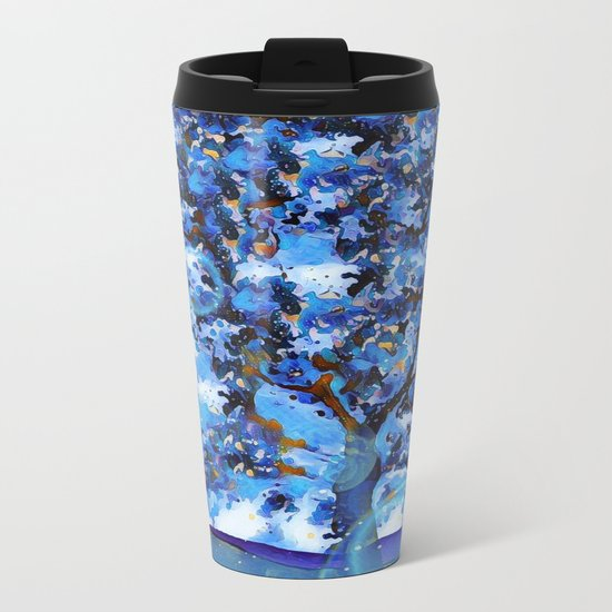 Plum Tree Hills Metal Travel Mug