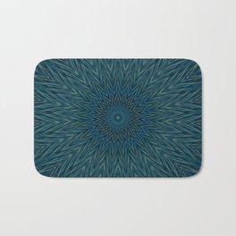 Basal Color Mandala 5 Bath Mat