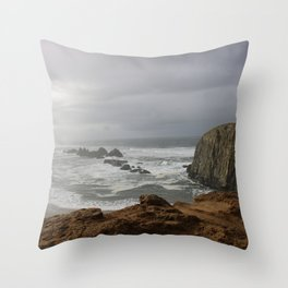 Oregon Coast #3 Throw Pillow