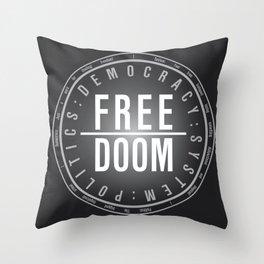 FreeDoom-2 Throw Pillow