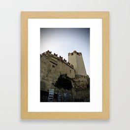 I capture a castle Framed Art Print