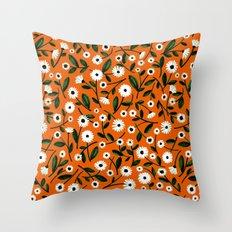 Daisy by Veronique de Jong Throw Pillow