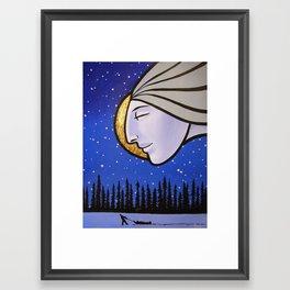 Northern Gods Framed Art Print